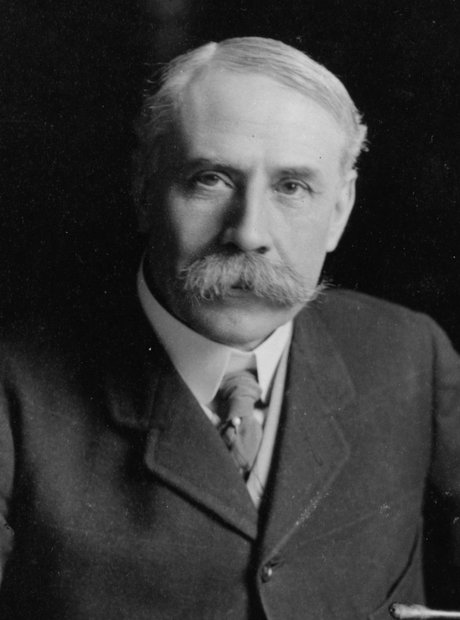 Edward Elgar's bushy moustache!