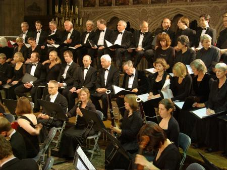 Two Moors Festival Chorus in Exeter Cathedral