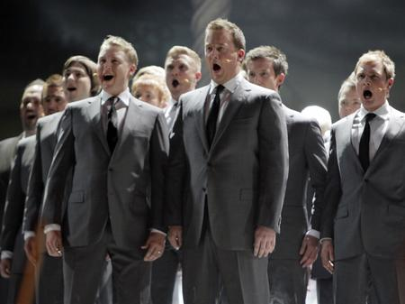 Rhydian and Only Men Aloud