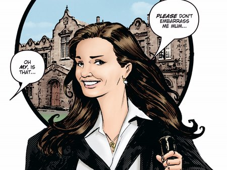 Kate and William comic book