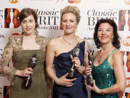 Classic BRITs 2011 Red carpet