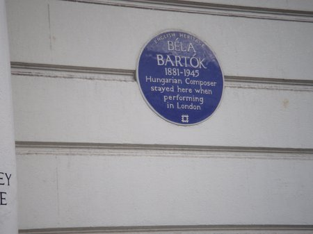 Composers' Blue Plaques