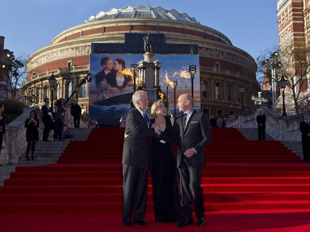 Titanic 3D World Premiere