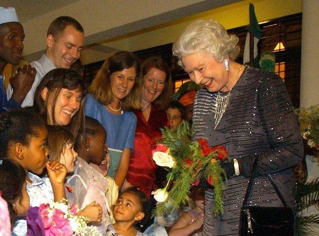 The Queen in Africa