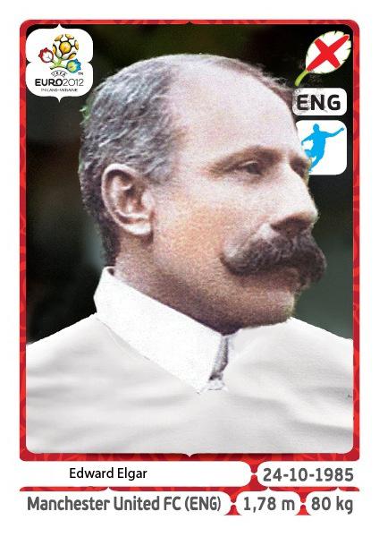 Edward Elgar Euro 2012