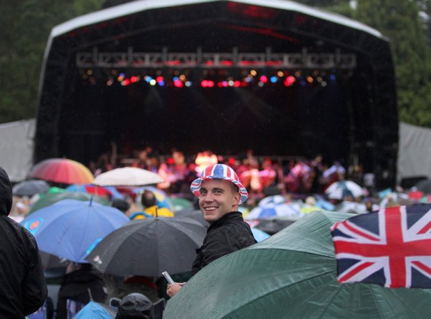 Warwick Castle Summer Proms 2012