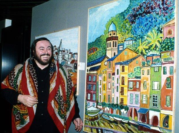 Pavarotti the Painter