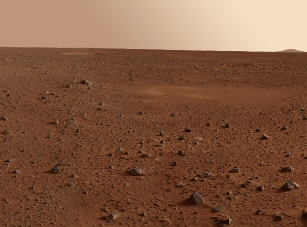 Mars surface red planet