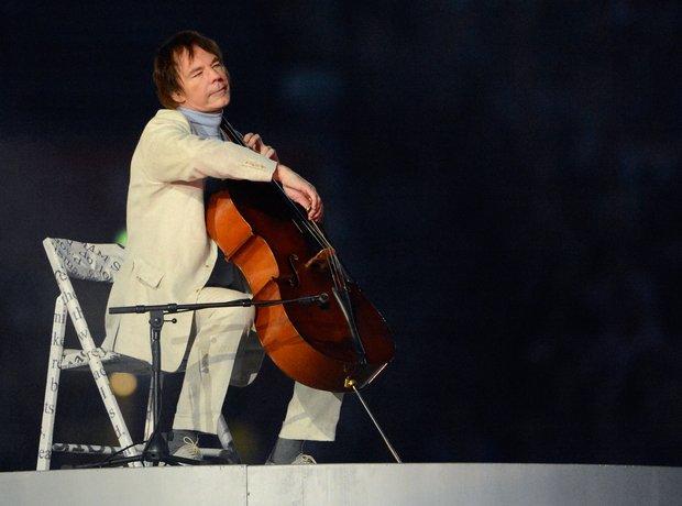 Julian Lloud Webber live Olympics Closing Ceremony