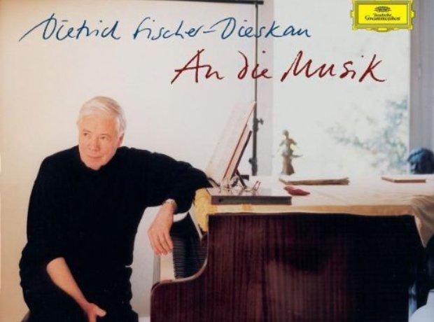 An Die Musik Fischer Dieskau album cover