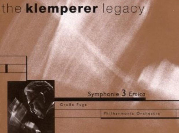 beethoven - Symphony No. 3 (Philharmonia/Klemperer) album cover