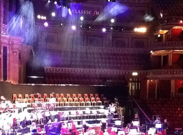 Classic FM Live on stage at the Royal Albert Hall