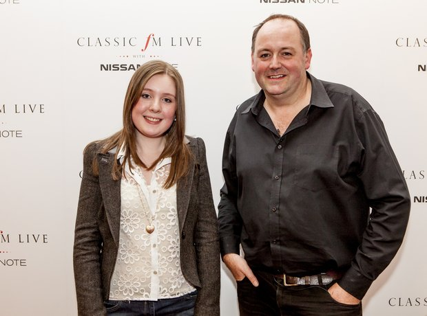 Sarah Gardner and Tim Lihoreau at Classic FM Live