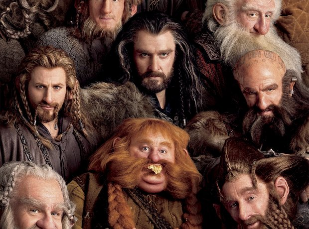 The Hobbit Poster Dwarves