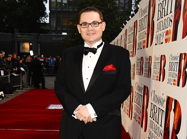 Classic BRIT Awards 2012 with Paul Mealor