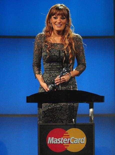 Nicola Benedetti at the Classic BRIT Awards 2012
