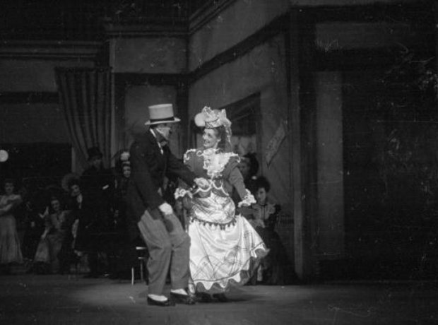 polka dancing