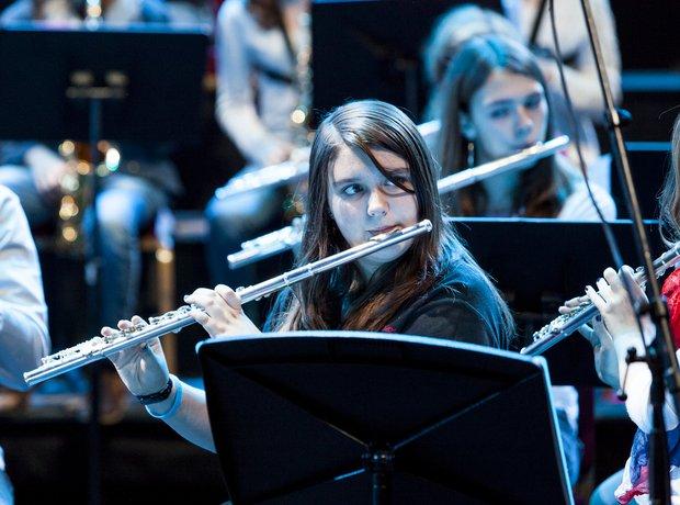 The Dream Orchestra schools prom rehearsal 4