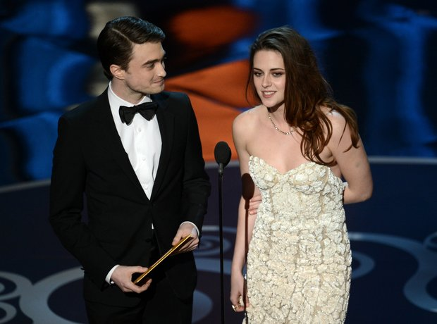 Daniel Radcliffe and Kristen Stewart  at the Oscar