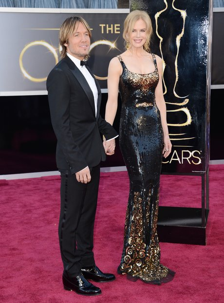 Keith Urban, and Nicole Kidman attend the Oscars 2