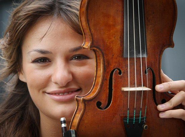 nicola benedetti and violin