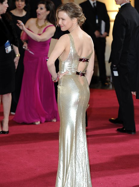 Renee Zellweger at the Oscars 2013 arrivals