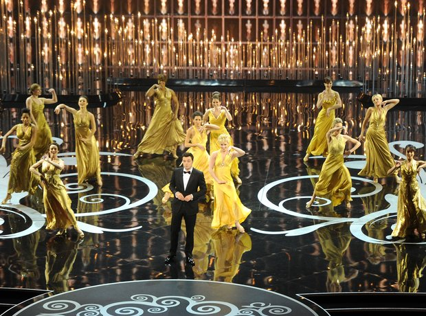 Seth MacFarlane at the Oscars 2013 Awards