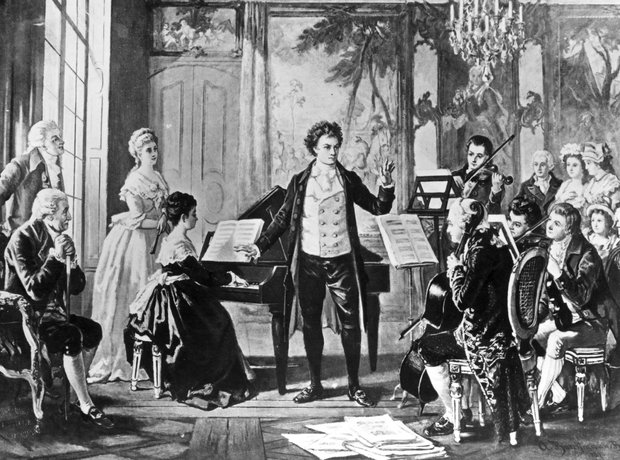 Ludwig Van Beethoven and the Rasowmowsky Quartet