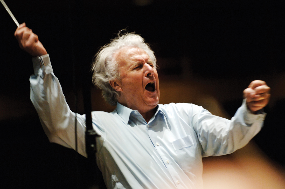 Sir Colin Davis (1927-2013): A Life In Pictures