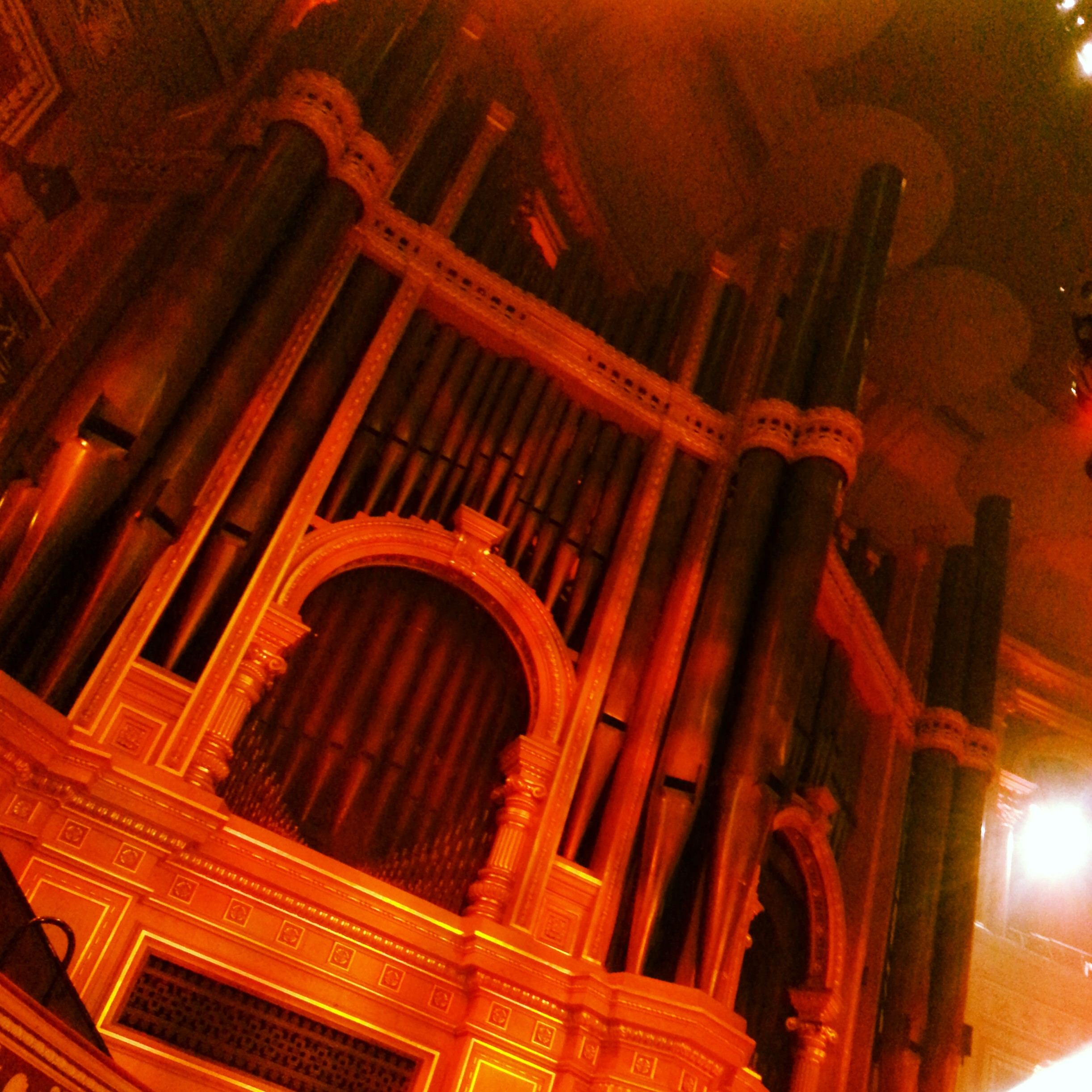 The Royal Albert Hall Organ