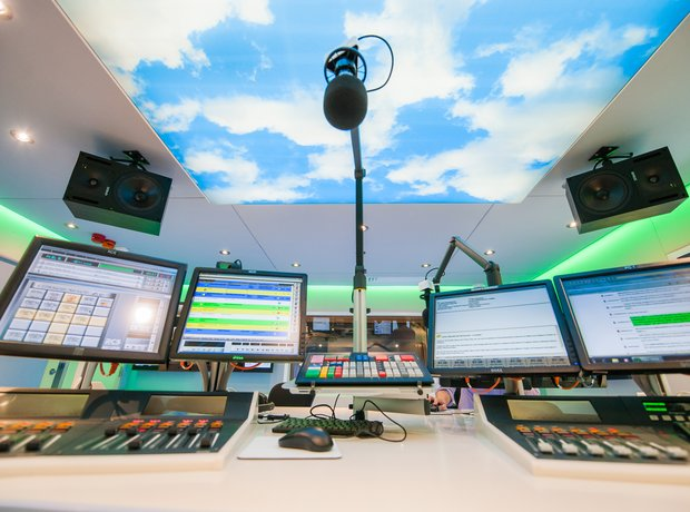 Classic FM studio technology