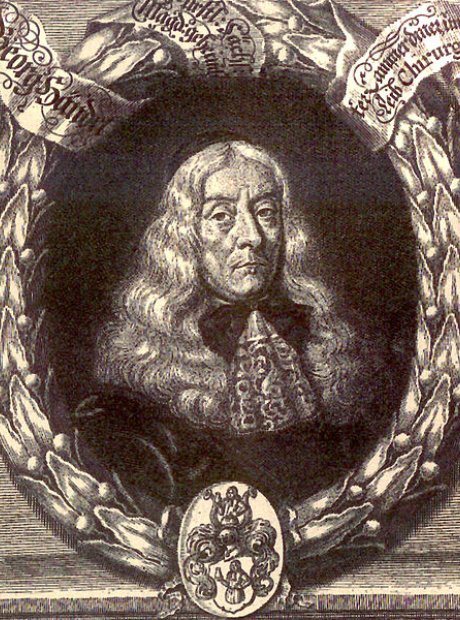 handel's father georg