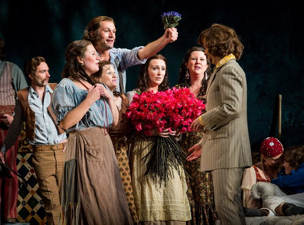 Marriage of Figaro at Glyndebourne 2013