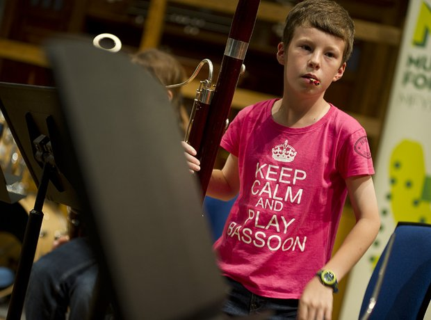 Berkshire Maestros Junior Bassoon Ensemble