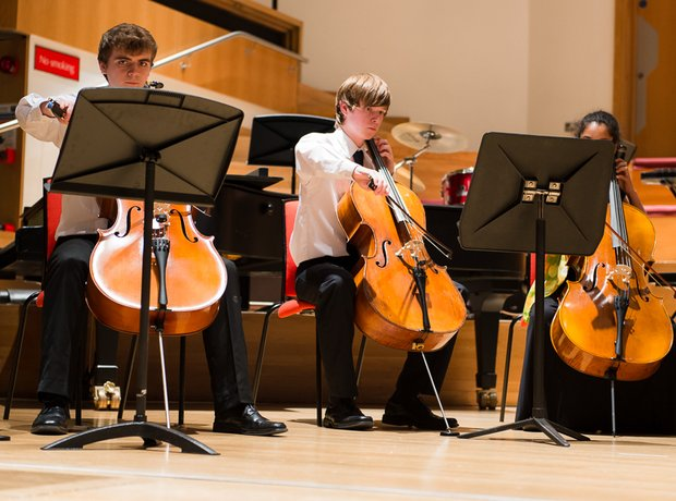 Hampshire County Youth Cellos