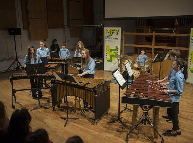 Sir Thomas Picton School Percussion Ensemble