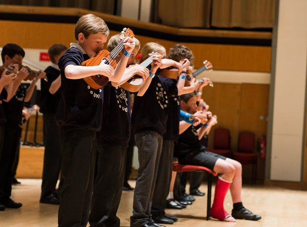 Yaxham Ukes Music For Youth National Festival