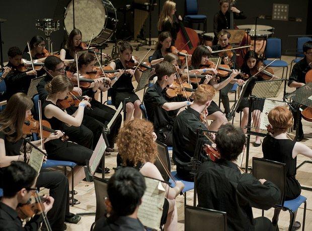 Milton Keynes Music Service String Orchestra