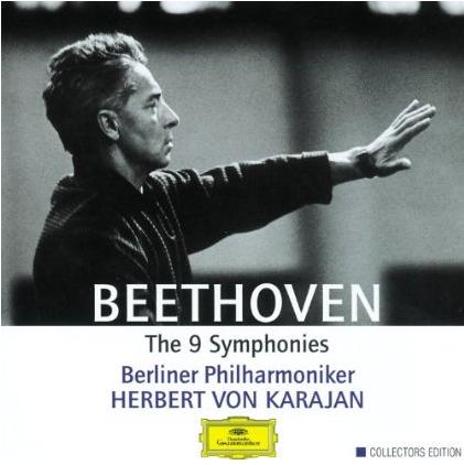 Karajan Beethoven album cover