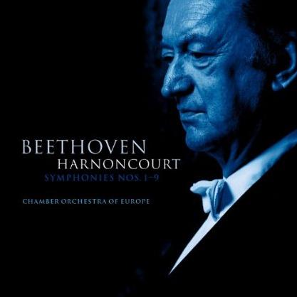 Nikolaus Harnoncourt beethoven album cover