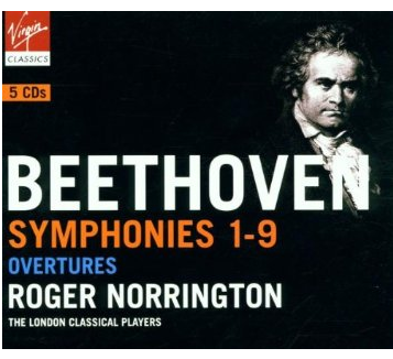Norrington beethoven album cover