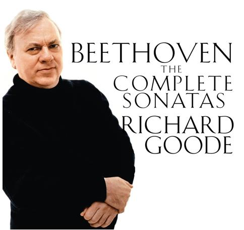 Richard Goode beethoven album cover
