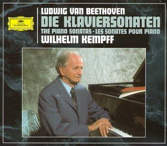 Wilhelm Kempff Beethoven album cover
