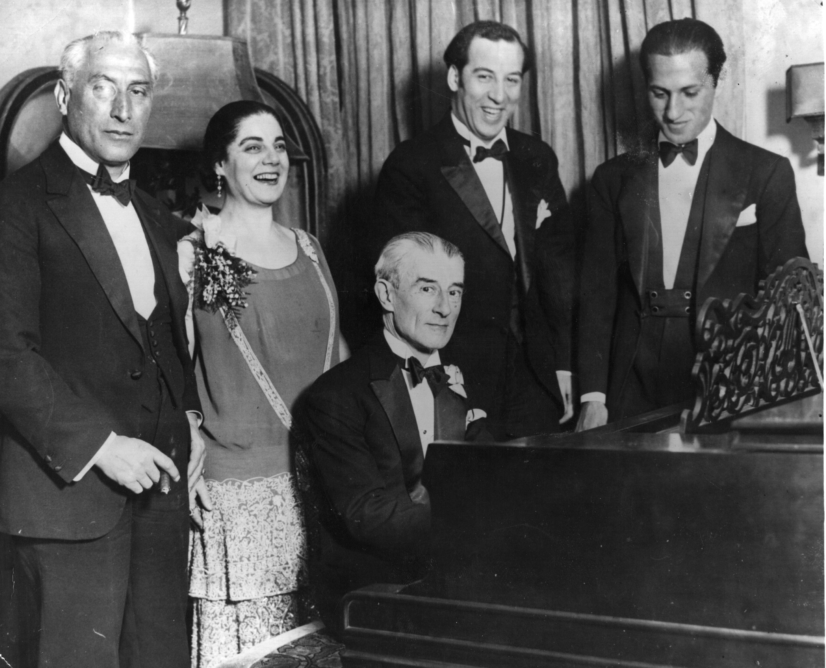 gershwin and ravel