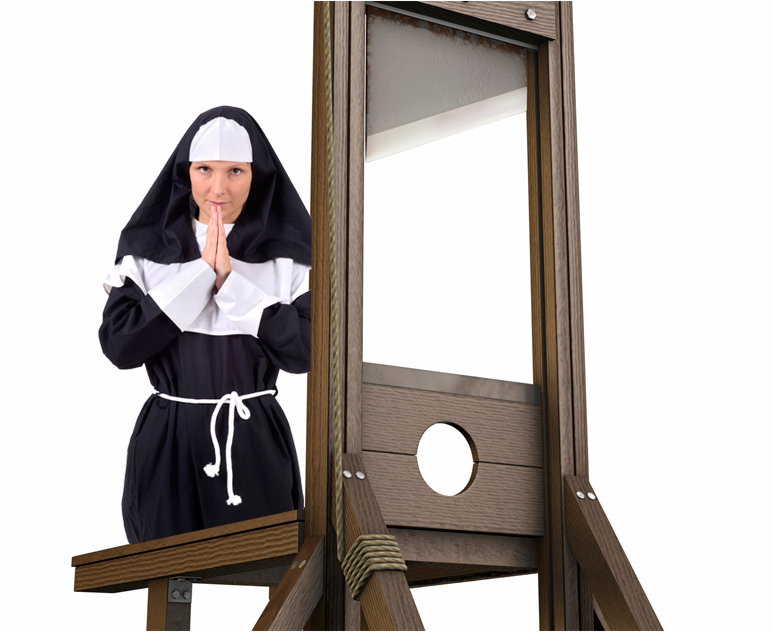 nun guillotine opera