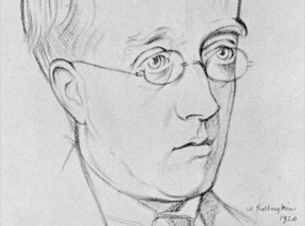 Holst drawing Rothenstein