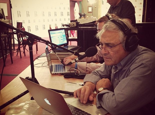 john suchet at the classic brits 2013