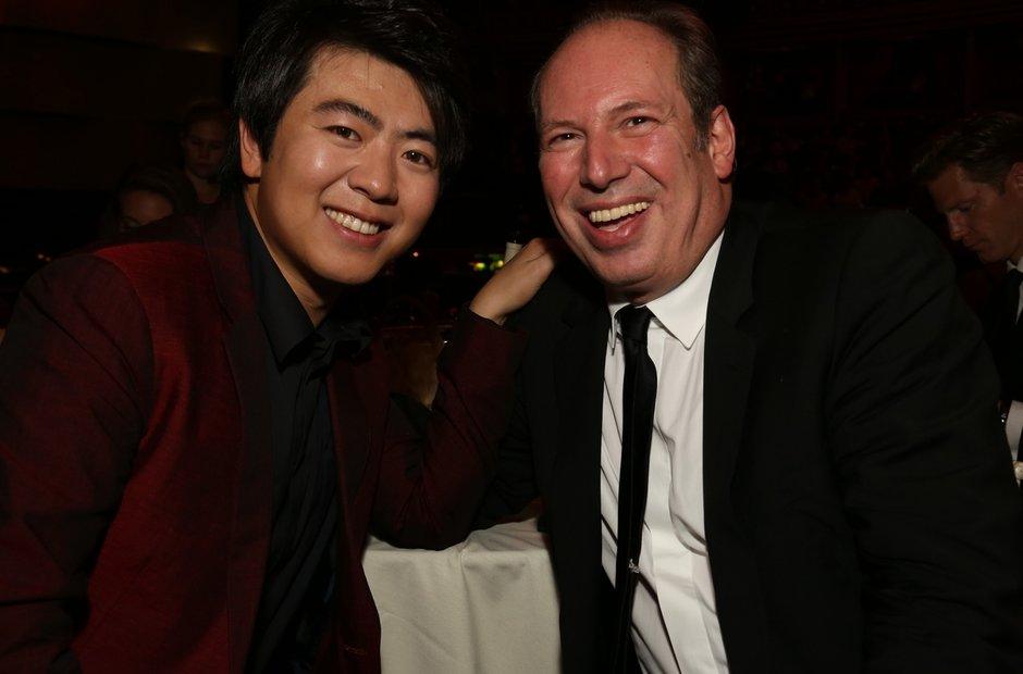 Lang Lang and Hans Zimmer Classic Brit Awards 2013