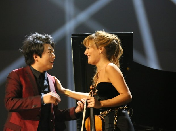 Lang Lang and Nicola Benedetti Classic Brit Awards
