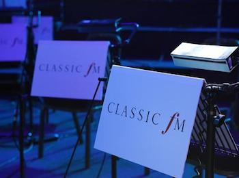 Classic FM music stand